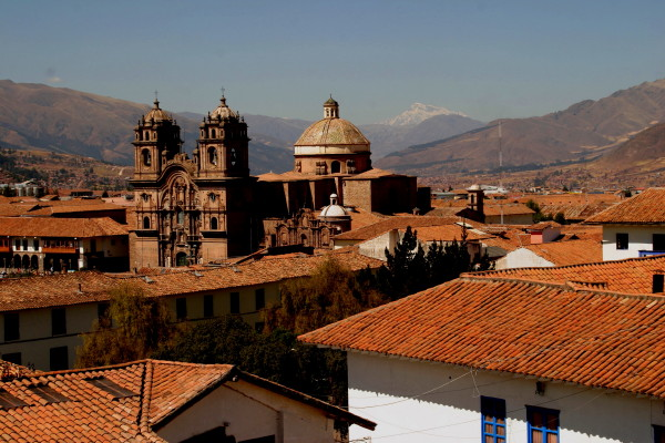 Cuzco priot to the Choquequirao trail