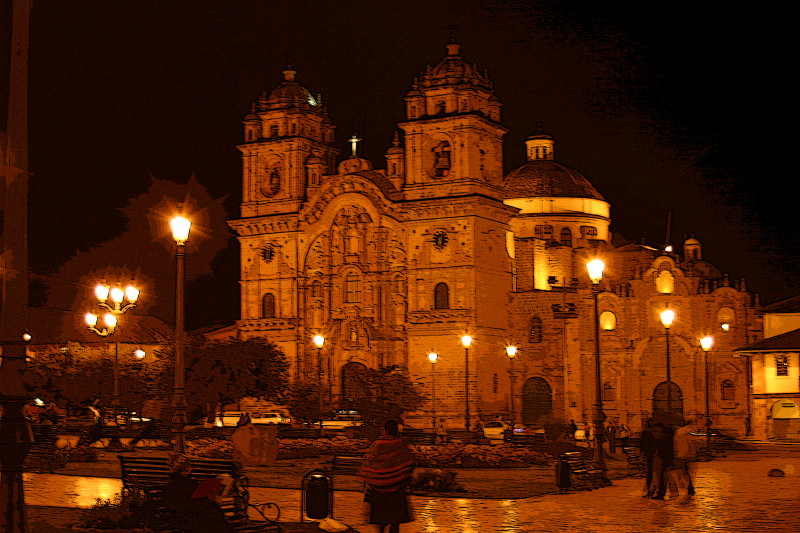 Cuzco: Cathedral of Santo Domingo in Plaza de Armas