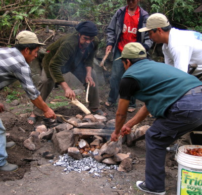 Chef George's Lamb, Choquequirao Inca Trail Trek