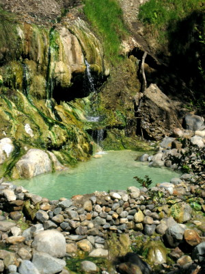 Colcapampa Hot Springs, Choquequirao Trek