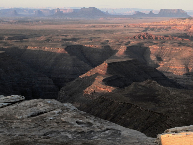 Cedar Mesa Plateau - Monument Valley Overview, Muley Point